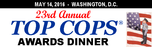 23rd Annual Top Cops Awards Dinner